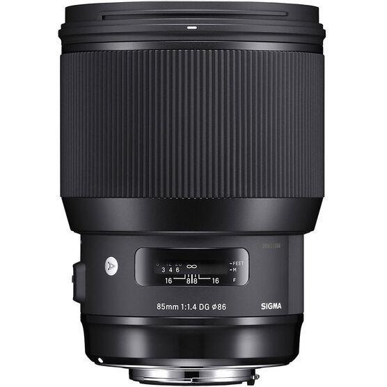 Sigma Art 85mm F1.4 DG Lens for Nikon - A85DGHN