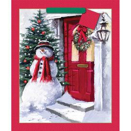 Snowman Christmas Gift Bag - Jumbo - 14243483-BARO