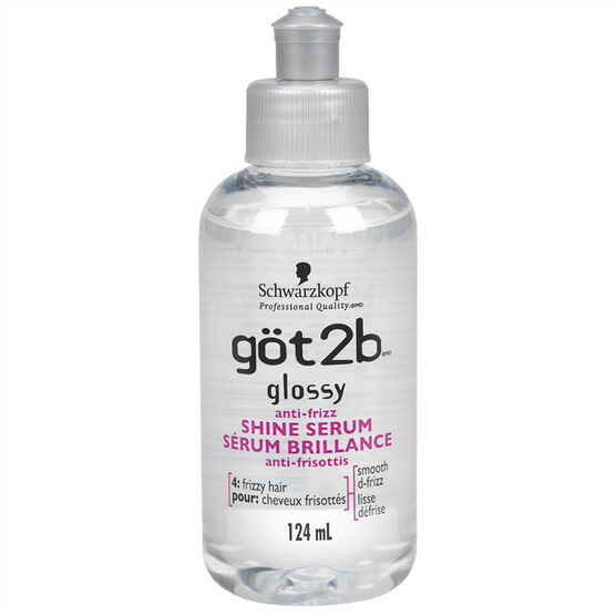 göt2b Glossy Anti-Frizz Shine Serum - 124ml