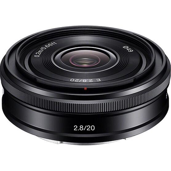 Sony NEX 20mm f/2.8 Wide Lens - SEL20F28