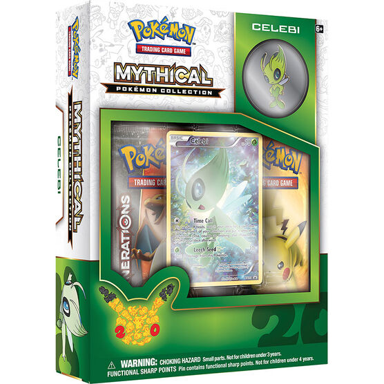 Pokémon Mythical Collection - Celebi - Assorted