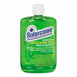 Solarcaine Medicated Aloe Gel - 220ml
