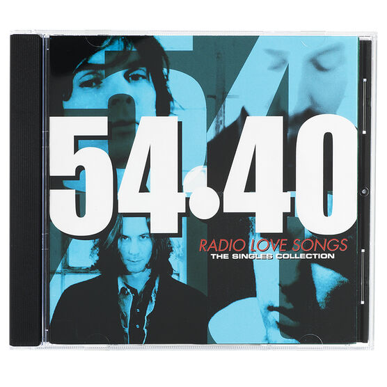 54-40 - Radio Love Songs: The Singles Collection - CD