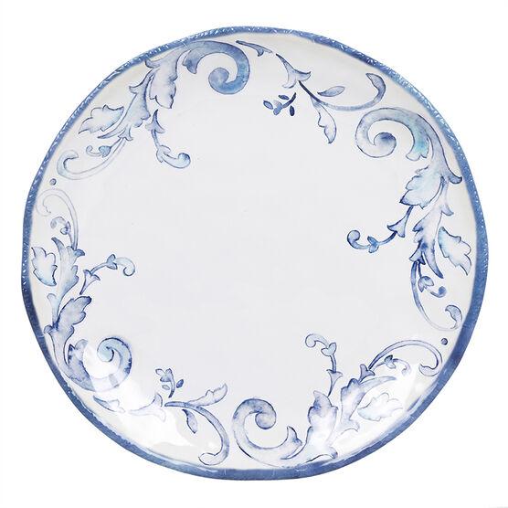 London Drugs Melamine Dinner Plate - Floral - 11in