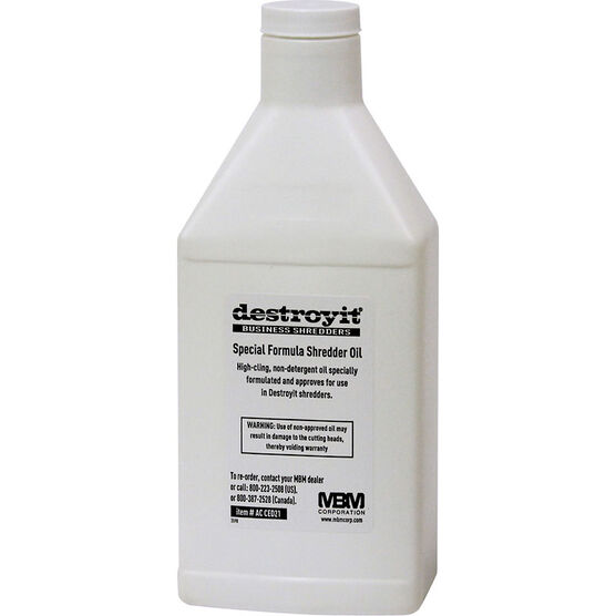 Destroyit Oil - 1 x 500ml