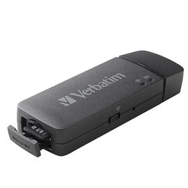 Verbatim MediaShare Mini Portable Wireless Streaming Device - Black - 49160