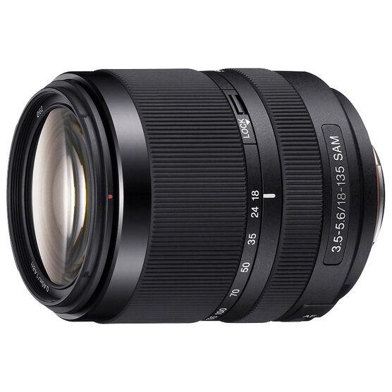 Sony DT 18-135mm F3.5-5.6 SAM Zoom Lens - Black - SAL18135 - Open Box Display Model