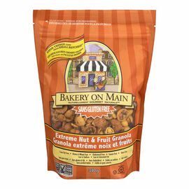 Bakery on Main Gluten Free Granola - Extreme Nut & Fruit - 340g