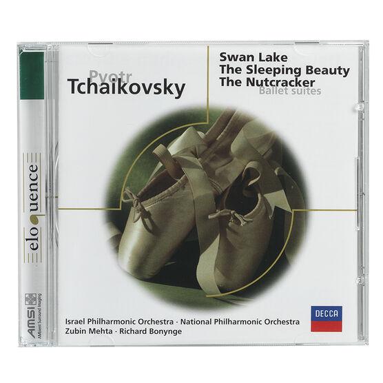 Tchaikovsky: Ballet Suites - Swan Lake, The Sleeping Beauty, The Nutcracker - CD