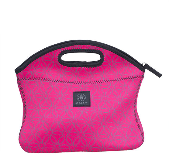 Gaiam Lunch Clutch Flowers of Life - Pink