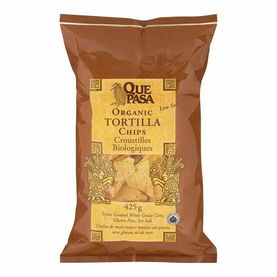Que Pasa Tortillas Organic Chips - Salted - 425g