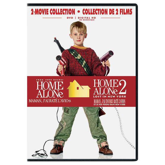 Home Alone 2-Movie Collection - DVD