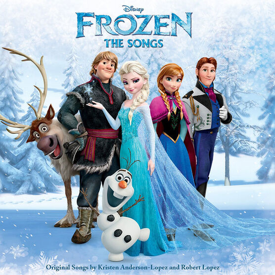 Frozen: The Songs - CD