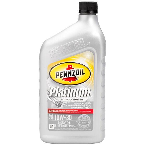 Pennzoil Platinum Synthetic Motor Oil - 10W30 - 946ml