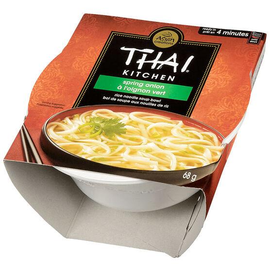Thai Kitchen Rice Noodle Soup Bowl - Spring Onion - 68g