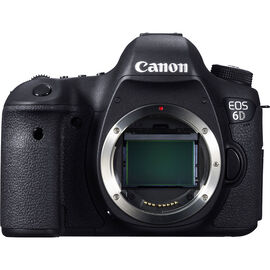 Canon EOS 6D Body Only - Black