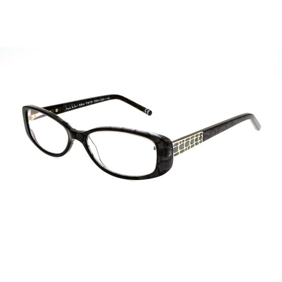 Foster Grant Willow Reading Glasses - Black/Chrome - 1.50