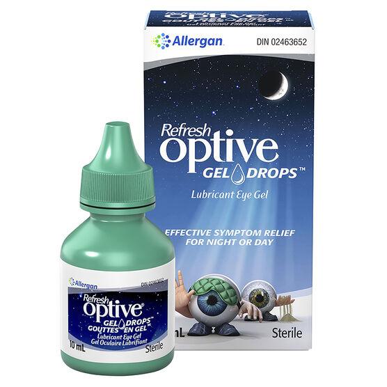 Refresh Optive Gel Drops Lubricant Eye Gel - 10ml