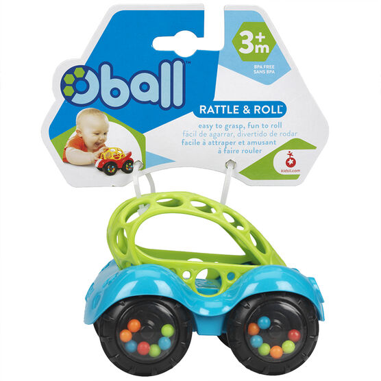 Oball Rattle & Roll - Assorted