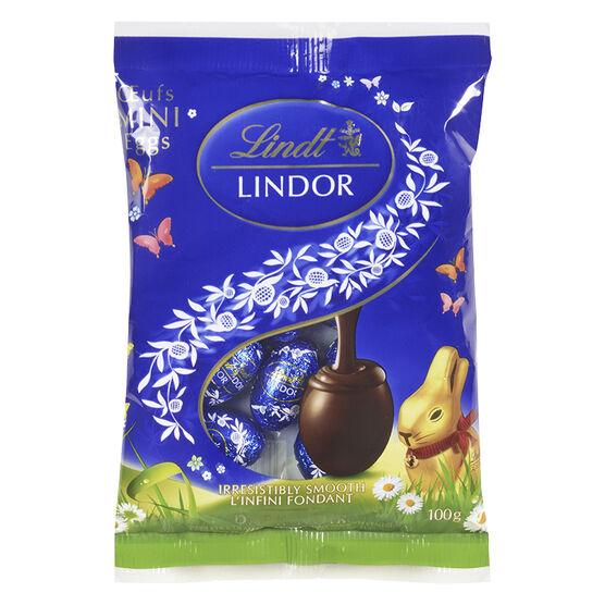 Lindt Lindor Mini Eggs - Dark - 100g