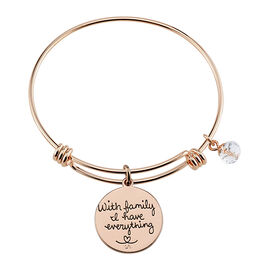 Unwritten Family Bangle