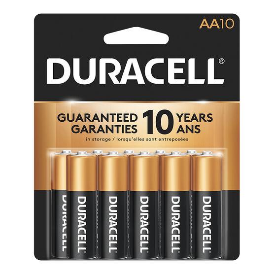 Duracell Alkaline AA Batteries - 10 pack