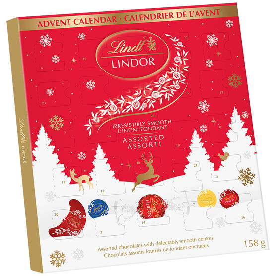 Lindor Advent Calendar - 158g