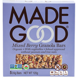Made Good Granola Bars - Mixed Berry - 5 pack