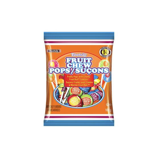 Tooties Fruit Chew Pops - 102g