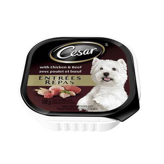 Pedigree Cesar Dog Food - Chicken and Beef - 100g