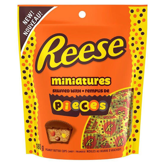Reese Miniatures with Reeses Pieces - 180g