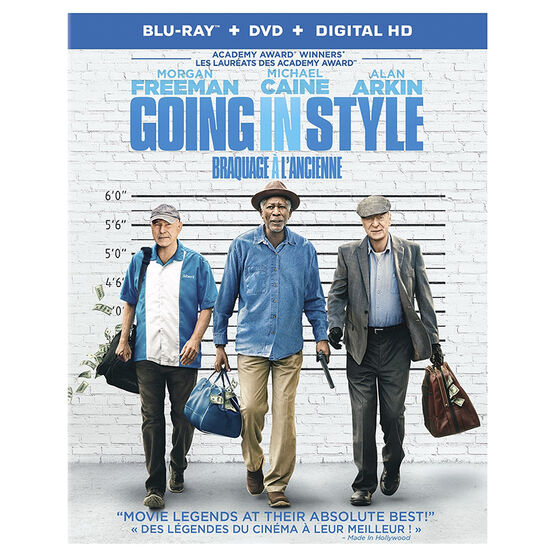 Going In Style - Blu-ray Combo