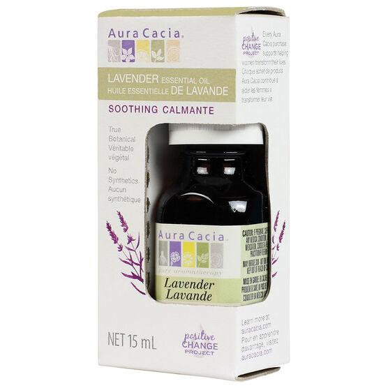 Aura Cacia Essential Oil - Lavender - 15ml