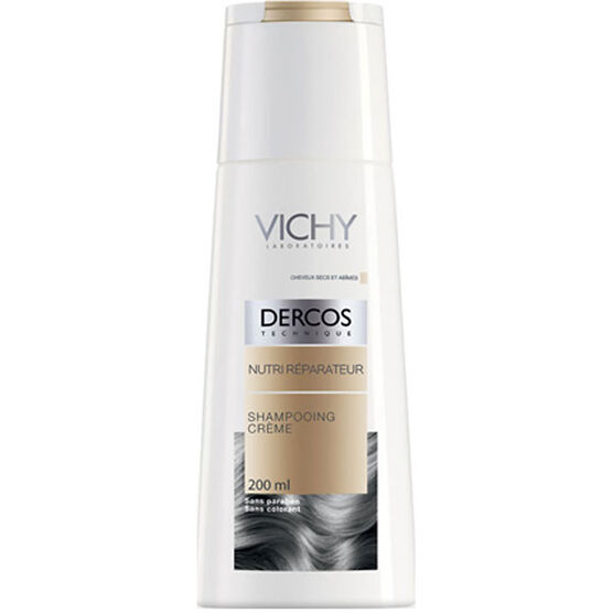 Vichy Dercos Nourishing and Reparative Cream Shampoo - 200ml