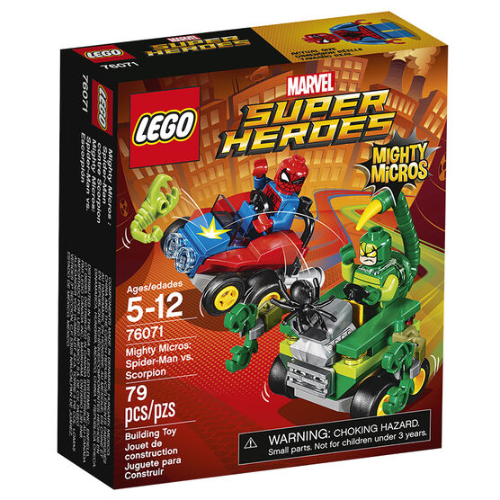 Lego Super Heroes Mighty Micros: Spider-man vs. Scorpion - 76071