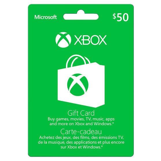 Xbox Gift Card - $50