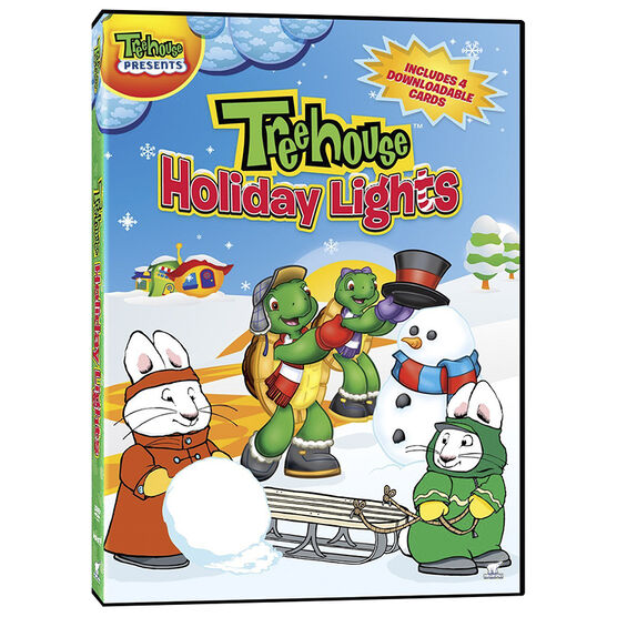 Treehouse Holiday Lights - DVD
