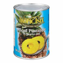 Tropic Isle Sliced Pineapple - 540ml
