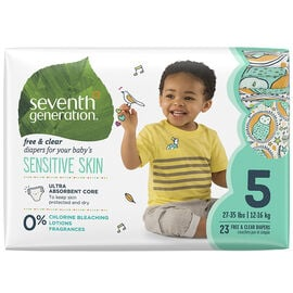 7th Generation Diapers - Stage 5 - 23's