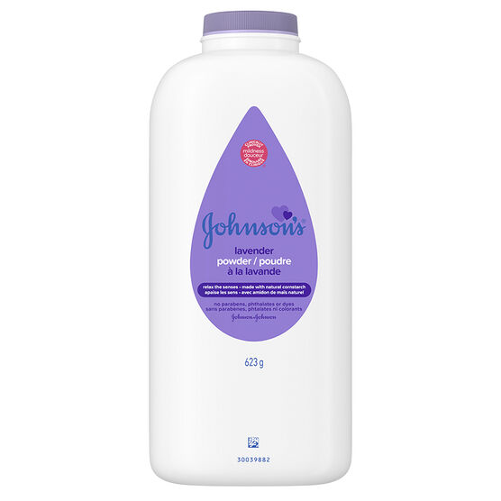 Johnson & Johnson Baby Powder with Lavender - 624g