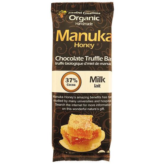 Manuka Honey Chocolate Truffle Bar - Milk Chocolate - 70g