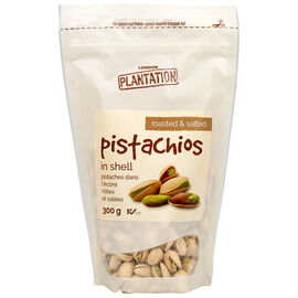 London Plantation Pistachios - Salted - 300g