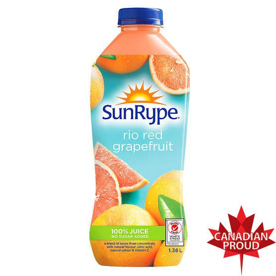 Sun-Rype Juice - Rio Red Grapefruit - 1.36L