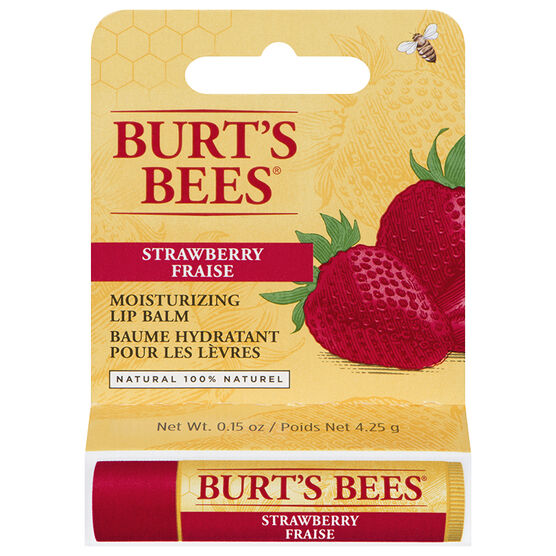 Burt's Bees Moisturizing Lip Balm - Strawberry - 4.25g