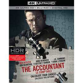 The Accountant - 4K UHD Blu-ray