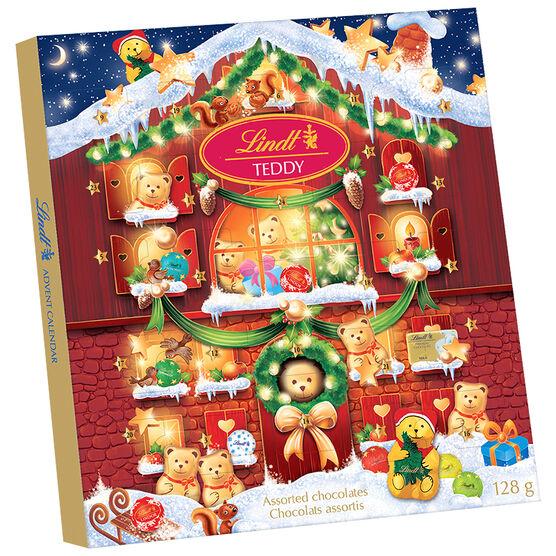 Lindt Bear Advent Calendar - 128g