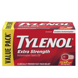 Tylenol* Extra Strength Tablets - 200's