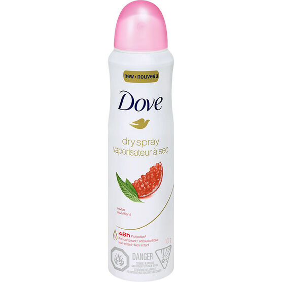 Dove Revive Dry Spray Anti-Perspirant - 107g