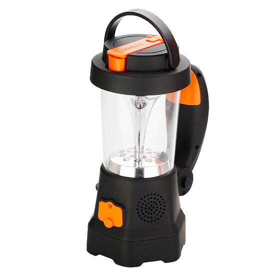 Borne Dynamo Crank Lantern - Black/Orange - LGHT02CR