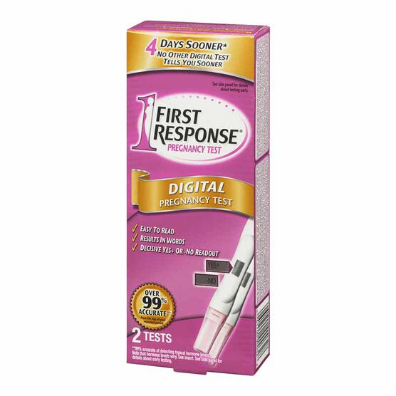 First Response Digital Pregnancy Test - 2 Tests